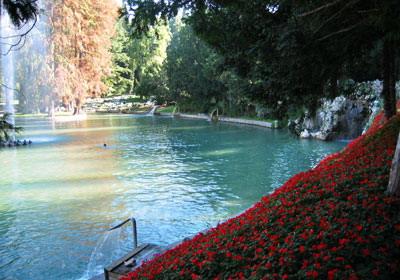 Parco termale villa dei cedri sorgenti acque oligominerali - Piscine termali verona ...