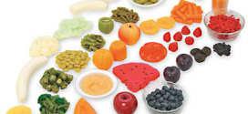 Piatti colorati per l'alimentazione estiva dei bambini