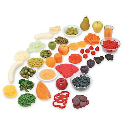 cibo colorato