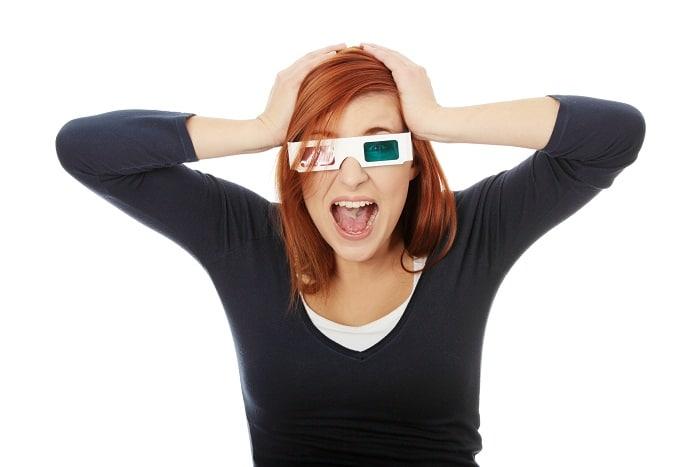 Gli occhiali 3d del cinema sono poco igienici e causano problemi alla vista?
