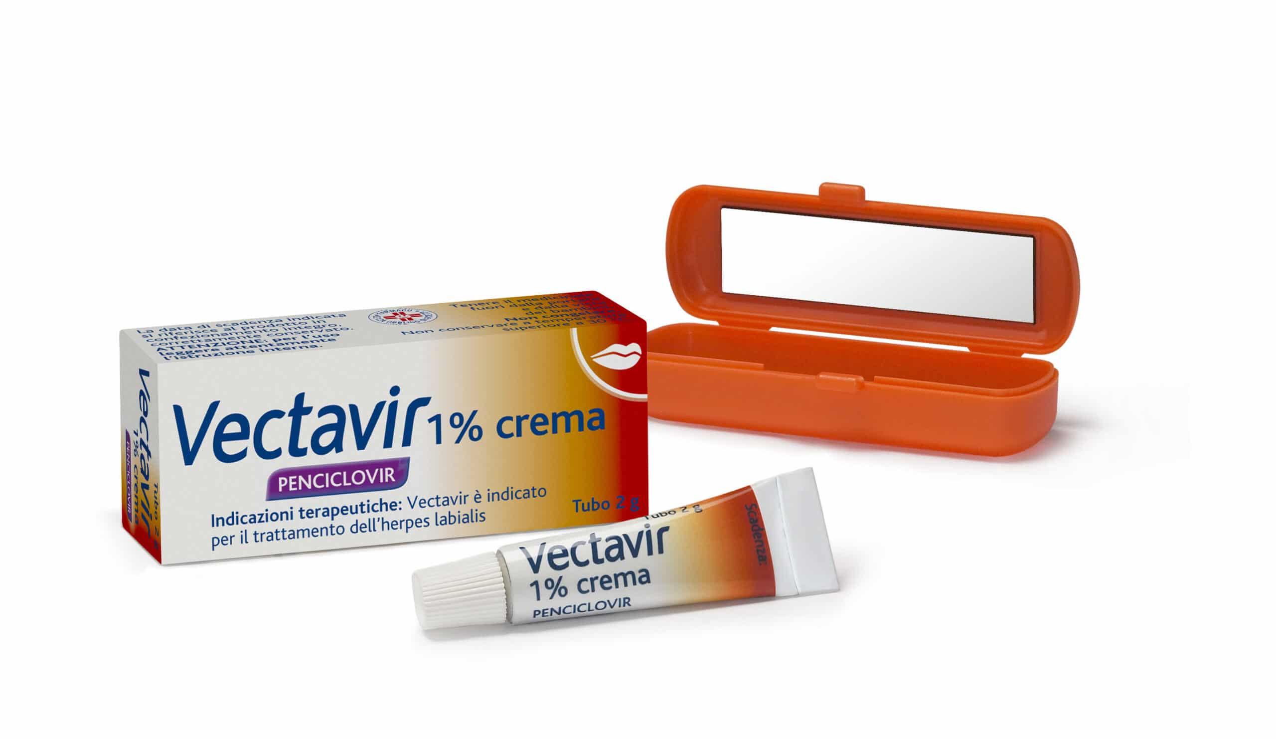 Vectavir Crema Con Penciclovir Rimedi Rapidi Contro L