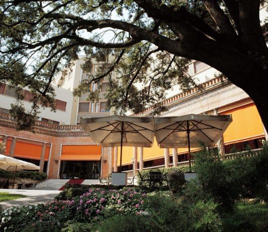 Ingresso interno Grand Hotel Terme castrocaro