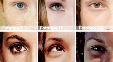 fototipo carnagione abbronzatura