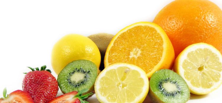 frutta kiwi arance