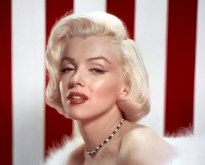 Marilyn-Monroe make up anni '50