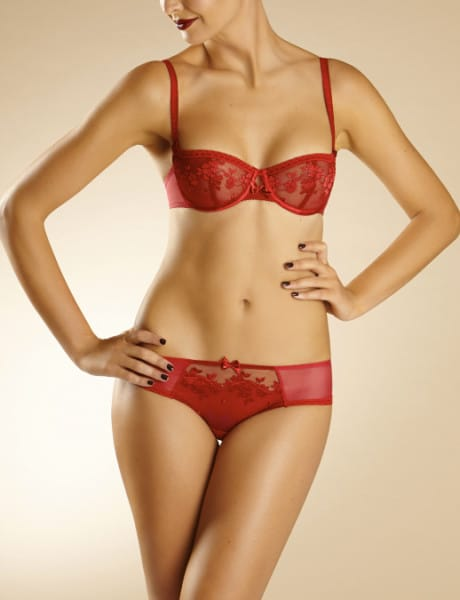 chantelle-intimo-rosso