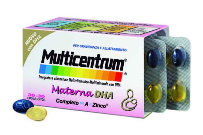 integratore Multicentrum Materna DHA