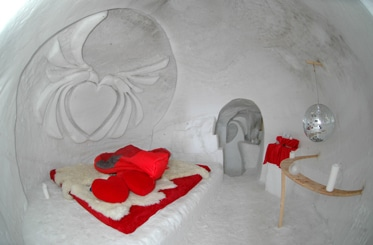 san valentino in igloo