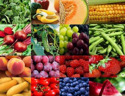 frutta e verdura drenante