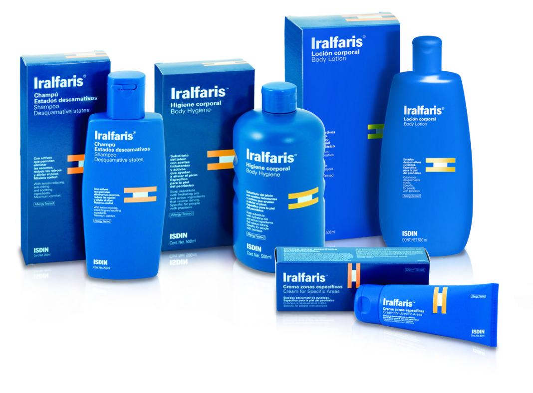 prodotti Iralfaris per psoriasi