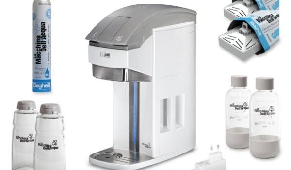 Macchina Dell Acqua : La macchina dell acqua per renderla frizzante