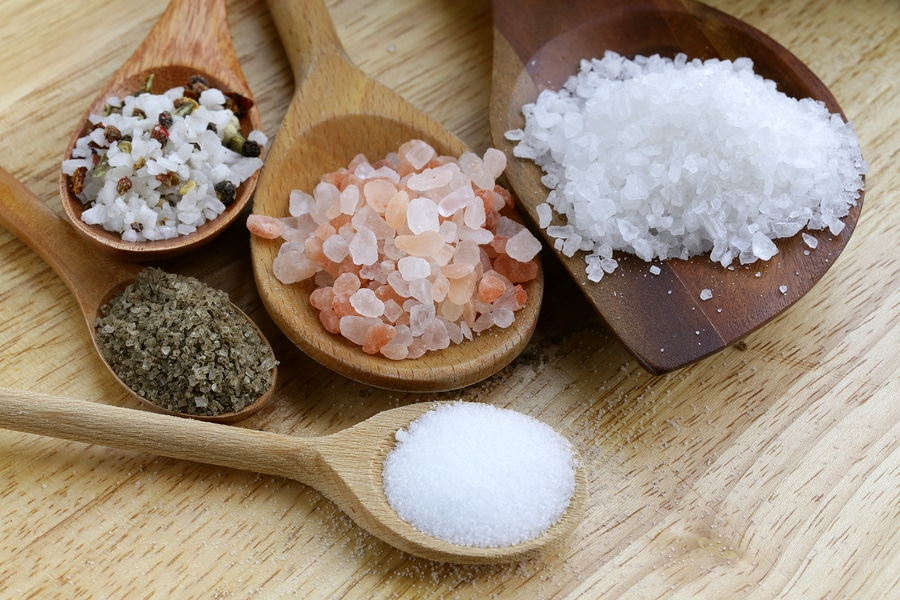 tipi di sale differenze