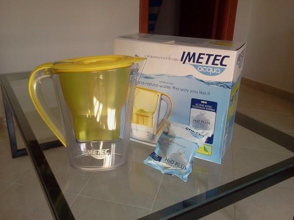 caraffa filtrante acqua imetec