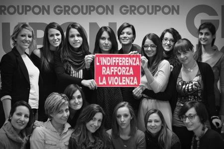 groupon offerta antiviolenza donne