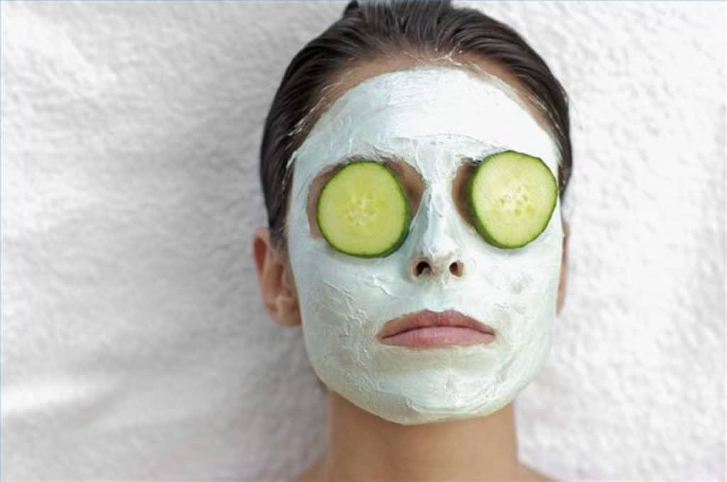 maschera al cetriolo