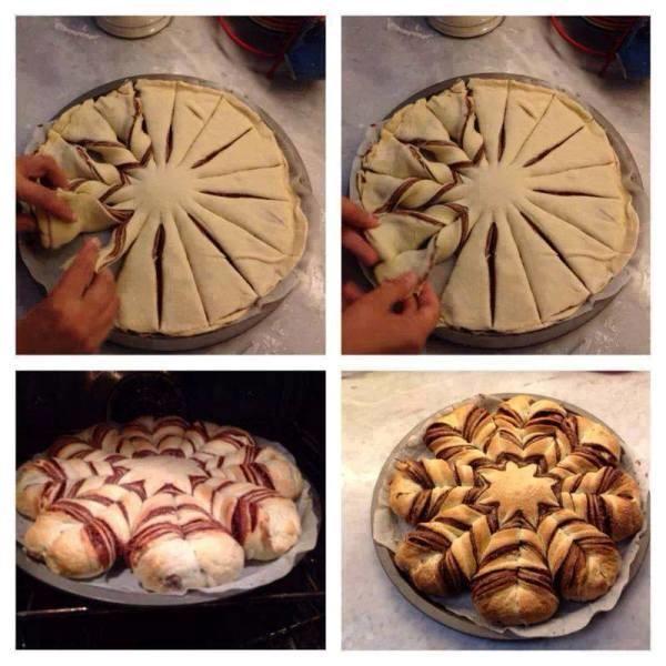 torta pane e nutella