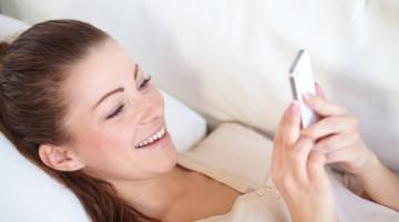 donna smartphone cellulare