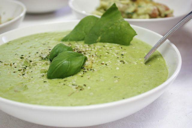 zuppa spinaci