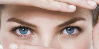 occhi donna orzaiolo