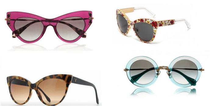 occhiali da sole moda 2014