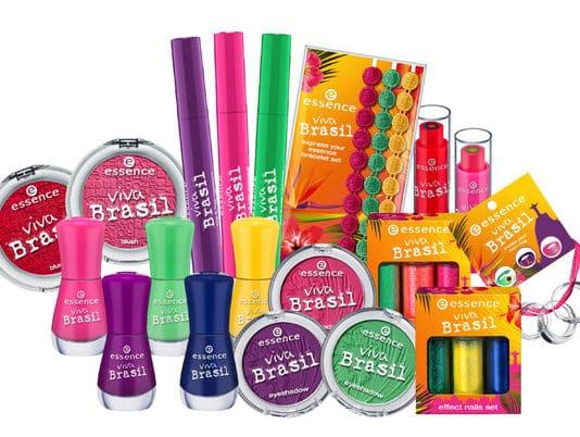 essence make up mondiali viva brasil