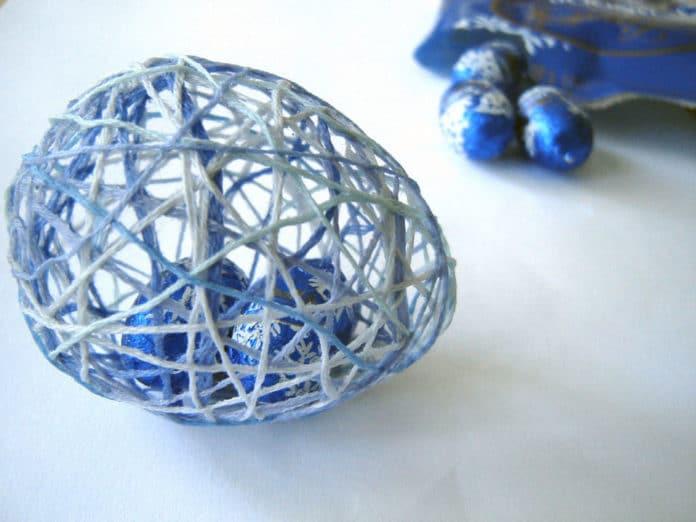 uova di spago ripiene