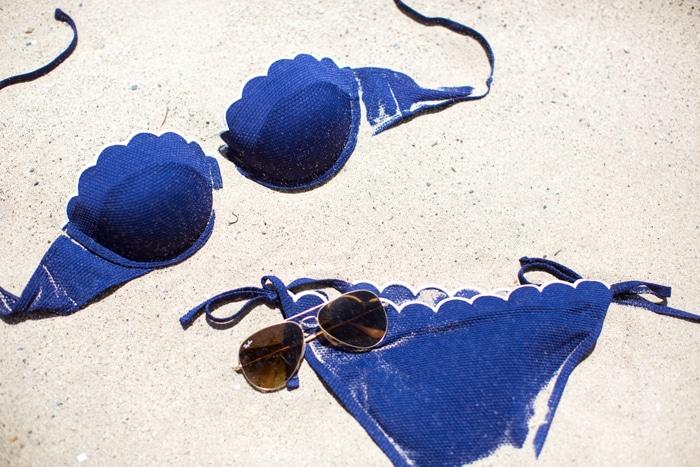 skalloped bikini moda mare