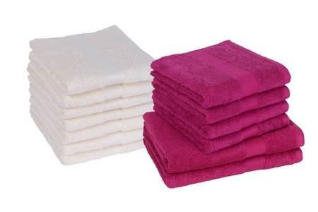 Set asciugamani cotone egiziano