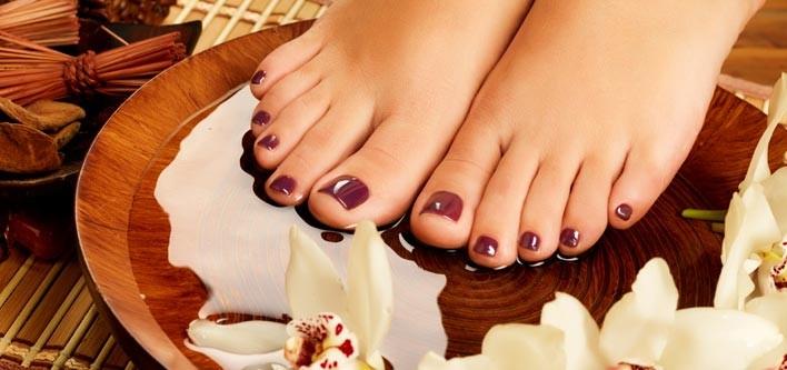 pedicure pediluvio piedi