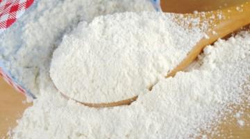 farina bianca riuso