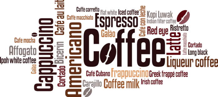 caffè scritta