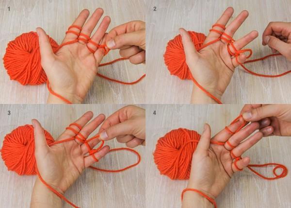 Finger-Knitting tutorial