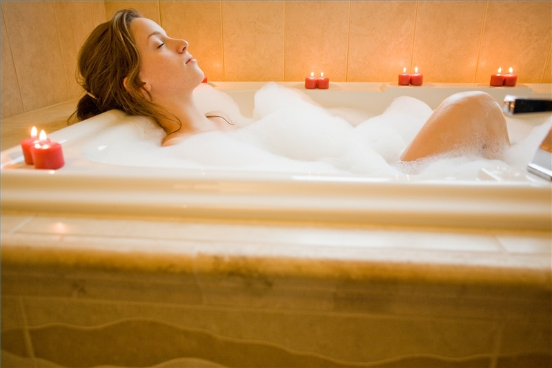 Il bagno detox per eliminare le tossine vivo di benessere