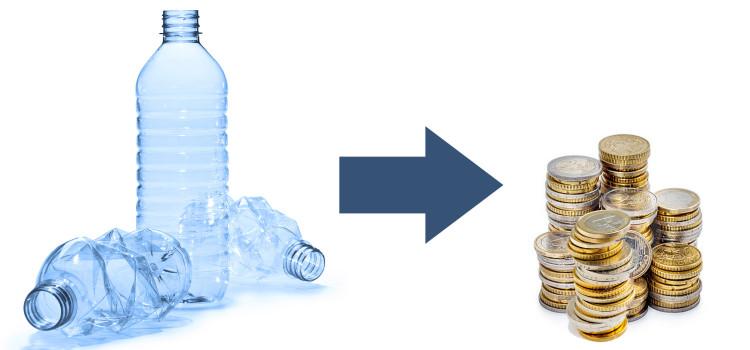 Risultati immagini per bottiglie plastica