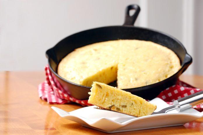 torta cotta in padella
