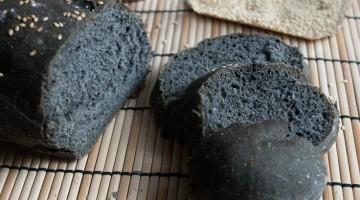 pane nero carbone vegetale attivo