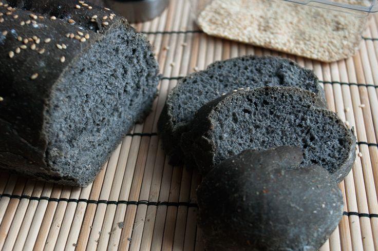 Home alimentazione Cibi e Bevande Il pane nero al carbone