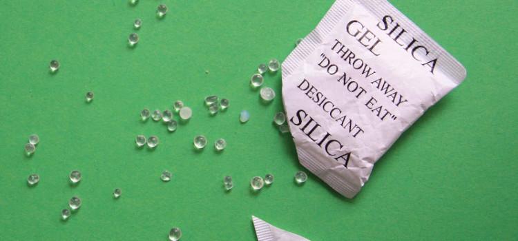 bustine silicio silica gel