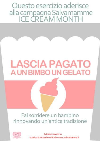 Salvamamme-Ice-Cream-Month-locandina gelato sospeso