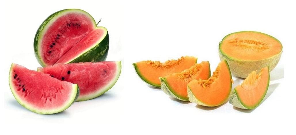 melone anguria cocomero maturi