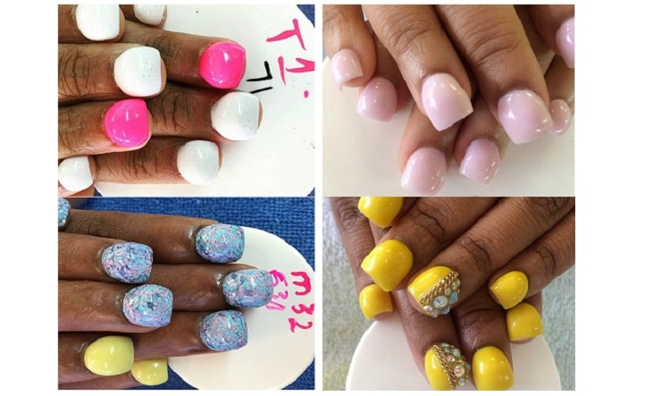 hump-nails bubble unghie