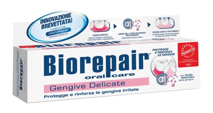 dentifricio gengive delicate biorepair