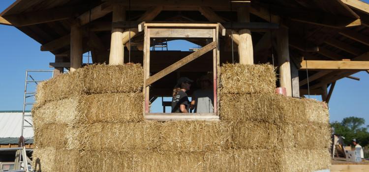 Costruzioni sostenibili a brescia la prima casa in paglia - Casa di paglia ...