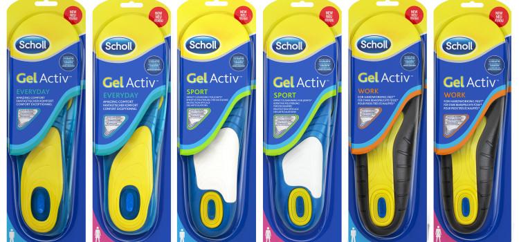 a435c61423f37 Solette gel Dr Scholl  la tecnologia per la salute dei piedi - Vivo ...