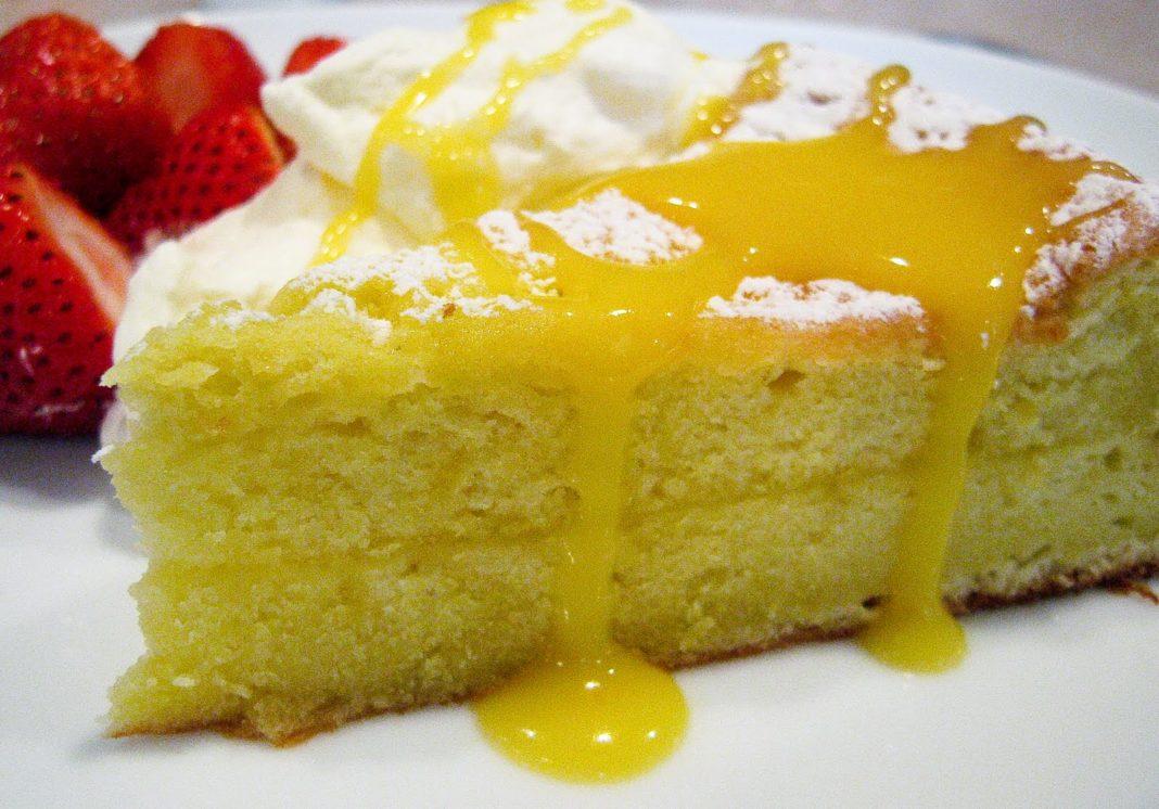 torta limone vegana