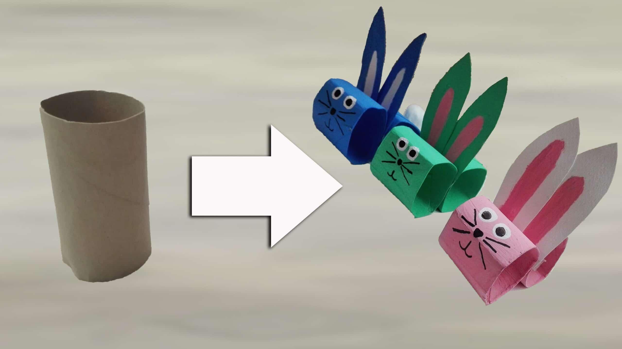 5 idee originali per riciclare i rotoli di carta igienica - Albero porta carta igienica ...