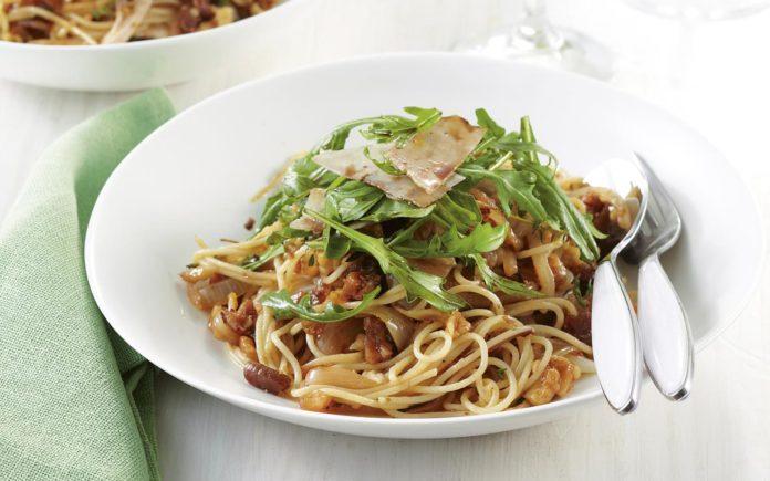 spaghetti fichi secchi