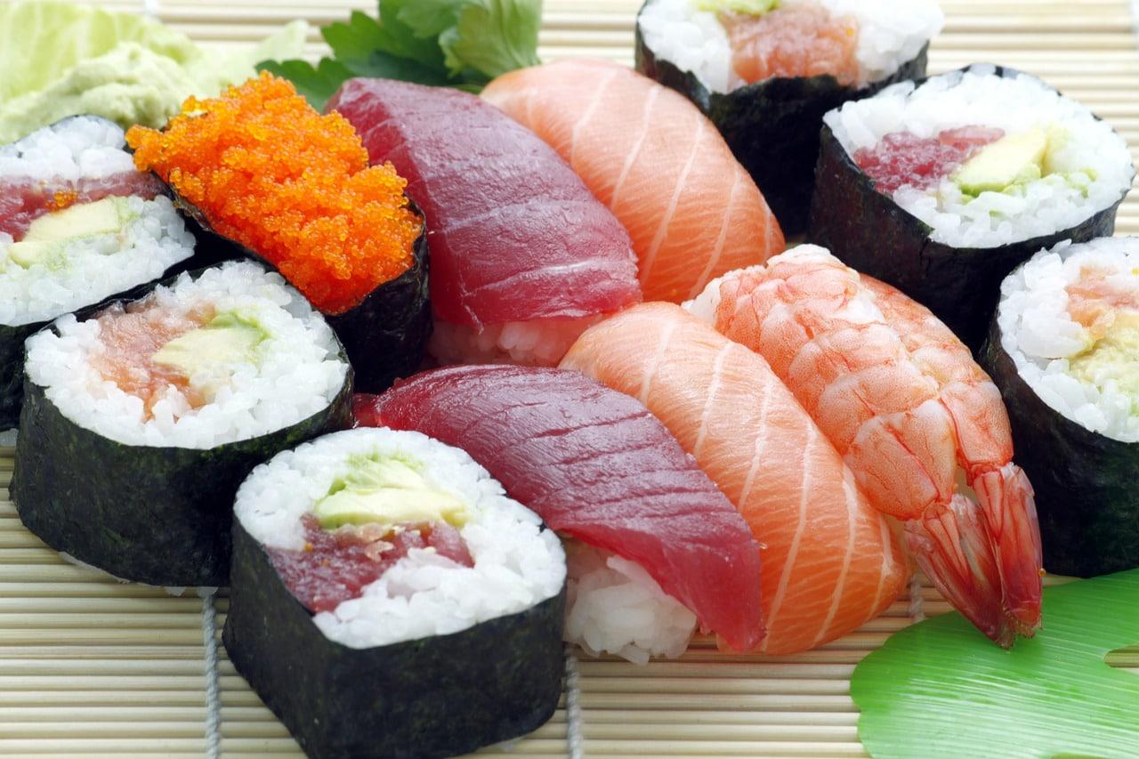 Quante calorie ha il sushi?