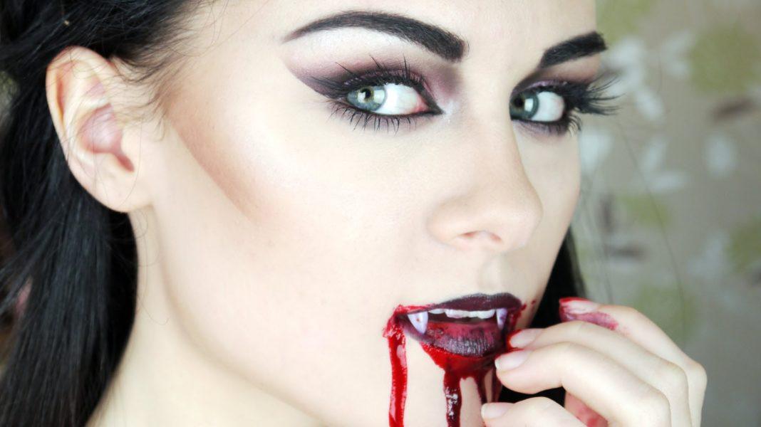make-up-vampira-halloween