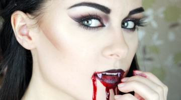 make-up-vampira-halloween